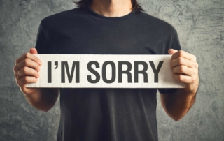 The Courage to Apologize