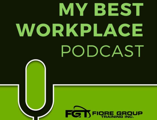 My Best Workplace Podcast Episode 11: Interview with Rosemarie Barnes, owner of Confident Stages