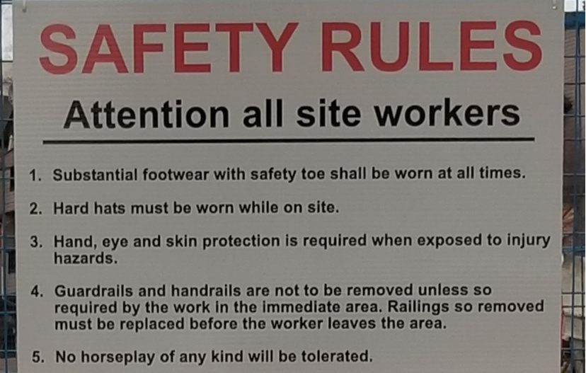 signage for respectful workplace