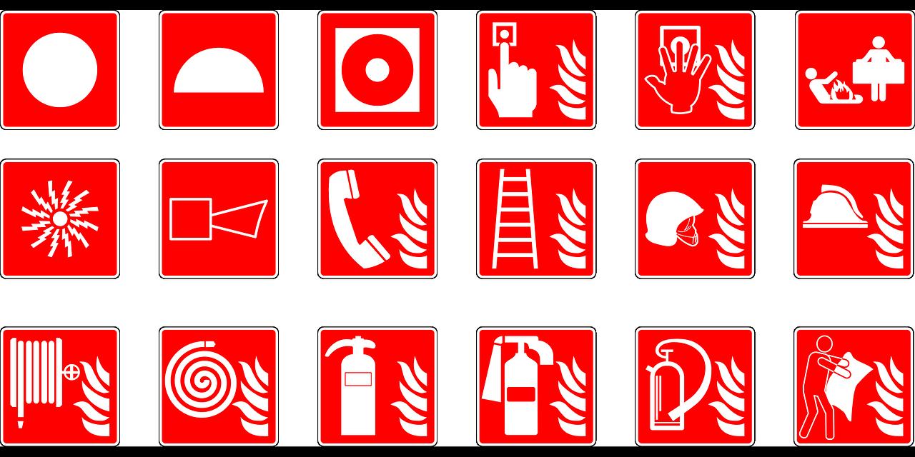 workplace safety symbols